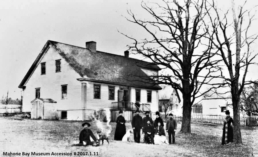 <p>MAHONE BAY MUSEUM PHOTO</p><p>An undated photo of the home and property at 16 Orchard Street.</p>
