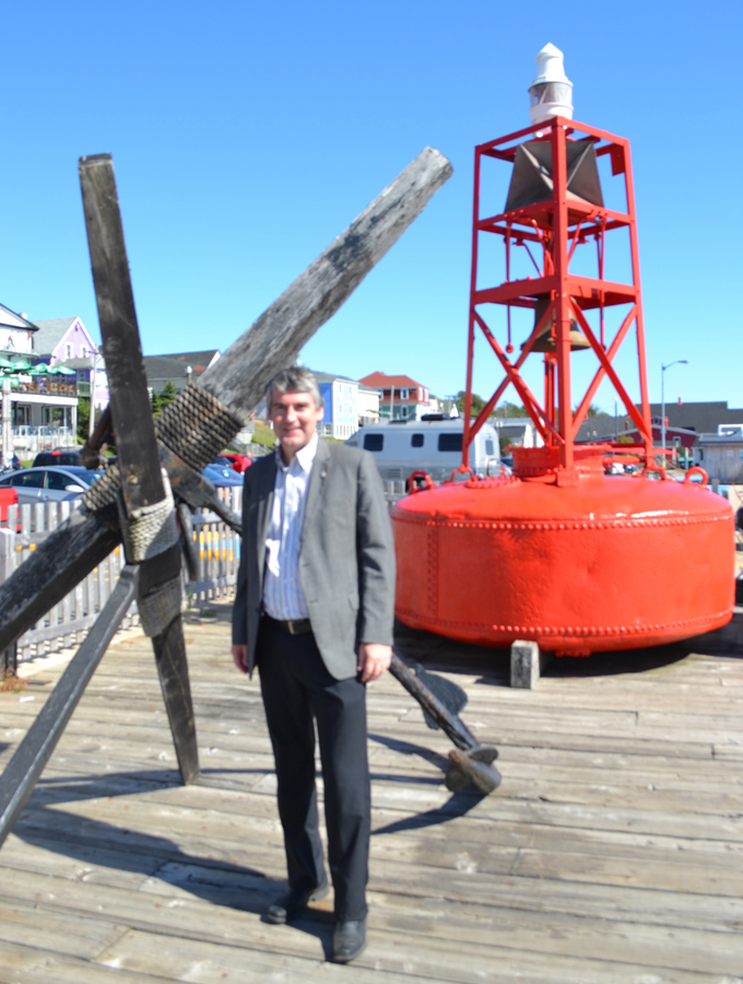 <p>DAVE STEPHENS PHOTO</p><p>Premier Stephen McNeil, pictured on the Lunenburg waterfront, brought the Liberal caucus to Lunenburg County on September 23, and held the weekly cabinet meeting at Oak Island the following day.</p>