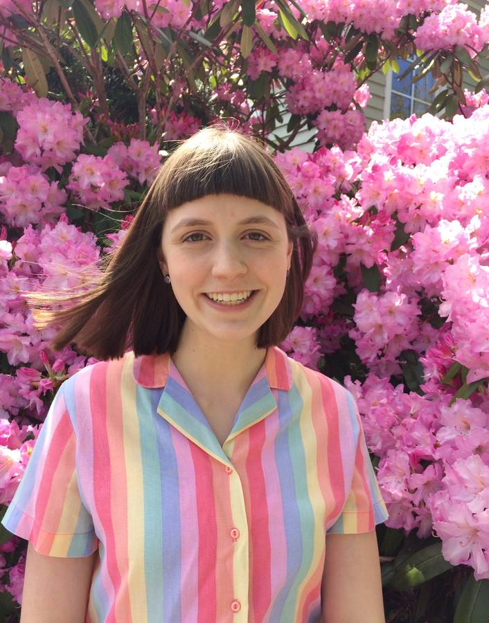 <p>Contributed photo</p><p>Mount Allison biology and philosophy student Hanna Longard is conducting summer research looking at green deathcare in the region.</p>