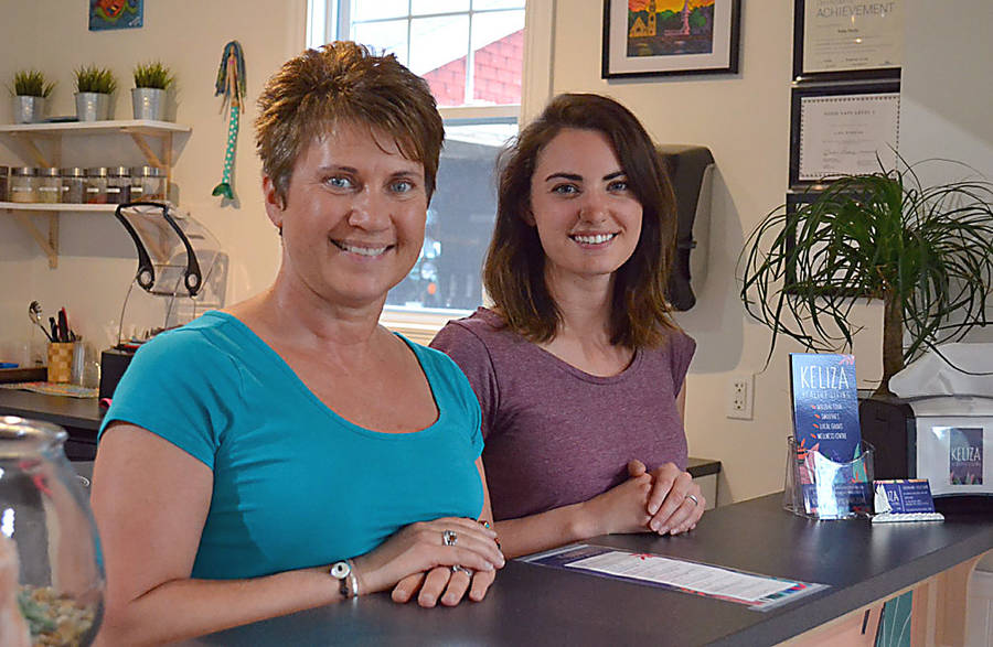 <p>GAYLE WILSON PHOTO</p><p>Lisa Higgins decided to rewrite her future and opened the Keliza Healthy Living Shop with her daughter Kelly Slade in Mahone Bay.</p>