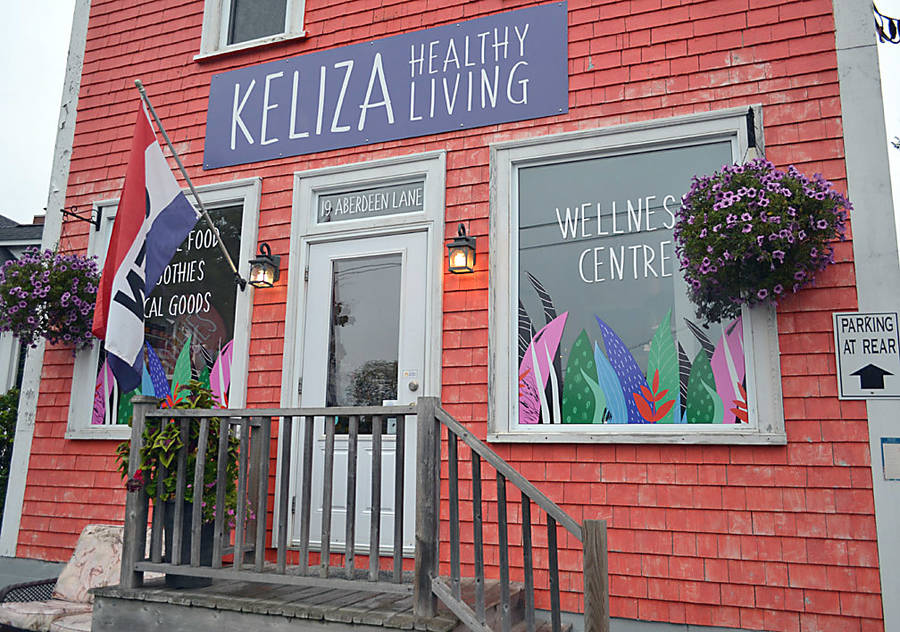 <p>GAYLE WILSON PHOTO</p><p>Keliza Healthy Living now occupies the former space of Buchanan's House of Music on Aberdeen Lane in Mahone Bay.</p>