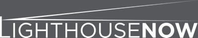 LighthouseNOW Logo White